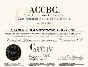 Addiction Counseling in Ventura County from Agoura Hills Addiction Counselor Lori Kansteiner, LMFT, LAADC